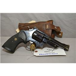 Smith & Wesson Model 27 - 2 .357 Mag Cal 6 Shot Revolver w /127 mm bbl [ blued finish, slight holste
