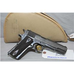 Colt Model 1911 Government .45 Auto Cal 7 Shot Semi Auto Pistol w/ 127 mm bbl [ faded war finish, ch