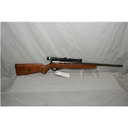 "Mossberg Model 151M ( a ) .22 LR Cal Semi Auto Rifle w/ 20"" bbl [ fading blue finish, barrel sights"