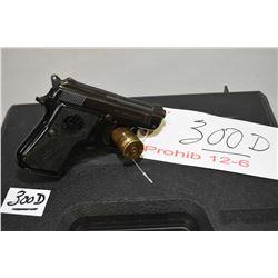 Beretta Model 950 B .22 Short Cal 6 Shot Semi Auto Pistol w/ 60 mm bbl [ blued finish, worn or partl