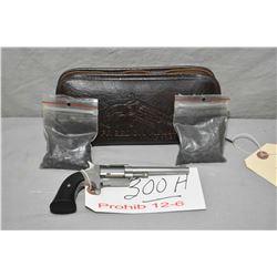Freedom Arms Model Mini Revolver .22 Perc Cal 5 Shot Revolver w/ 76 mm bbl [ stainless finish, dark