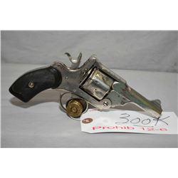 Webley Marked Army & Navy C.S.L. Mark III .38 S & W Cal 6 Shot Revolver w/ 76 mm bbl [ flaking nicke