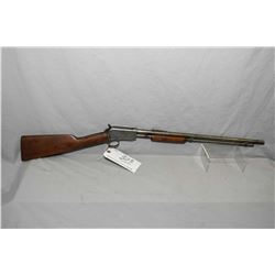"""Winchester Model 1906 .22 LR Cal Tube Fed Pump Action Rifle w/ 20"""" round bbl [ blued finish polished"""