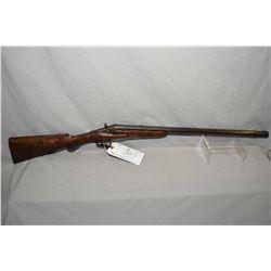 "Flobert Warant System .32 Rimfire Cal ? Flip Block Single Shot Rifle w/ 23 1/2"" octagon bbl [ blued"