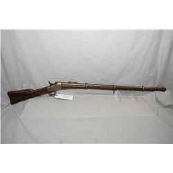 "Remington Model No 1 Rolling Block .43 Spanish Cal ? Full Wood Military Three Band Rifle w/ 35"" bbl"