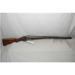 "Remington Model 1900 .12 Ga Side By Side Hammerless Shotgun w/ 30"" bbls [ lots of Damascus pattern,"