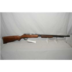 """Noble Model 235 .22 LR Cal Tube Fed Pump Action Rifle w/ 24"""" round bbl [ blued finish, starting to f"""
