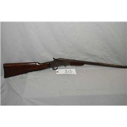 "Remington Model No. 6 .32 Short or Long Rimfire Cal Falling Block Rifle w/ 20"" bbl [ patchy fading b"