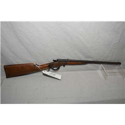 "Stevens Model Crack Shot - 26 .22 LR Cal Falling Block Rifle w/ 18"" bbl [ blued finish starting to f"