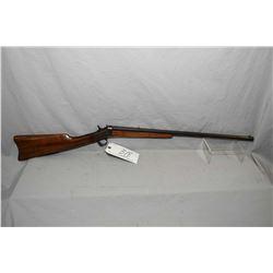 """Remington Model No. 4 Rolling Block .32 Rimfire Cal Rolling Block Rifle w/ 24"""" octagon bbl [ blued f"""