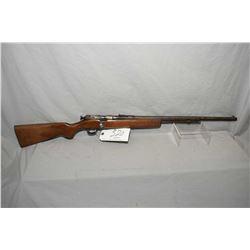 """Cooey Model 60 .22 LR Cal Tube Fed Bolt Action Rifle w/ 24"""" bbl [ mottled fading blue finish, barrel"""