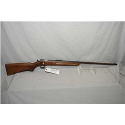 """Winchester Model 67 .22 LR Cal Single Shot Bolt Action Rifle w/ 27"""" bbl [ fading blue finish turning"""