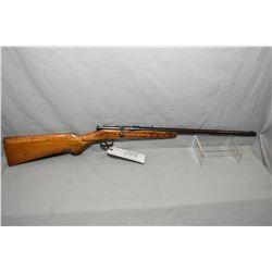 """J.G.A. Anschutz Model Sporter .22 LR Cal Single Shot Bolt Action Rifle w/ 18 1/4"""" bbl [ fading blue"""