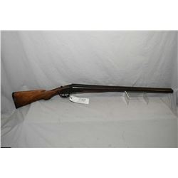 """Tolley & Co. Model Side By Side Hammerless .12 Ga Break Action Shotgun w/ 27 1/2"""" bbls [ reblued fin"""