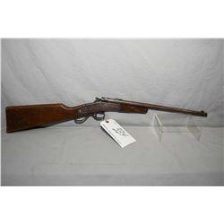 "Hamilton Model No. 27 .22 Cal Single Shot Break Action Rifle w/ 15"" round bbl [ blued finish turned"