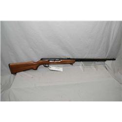 "Remington Model 550 - 1 .22 LR Cal Tube Fed Semi Auto Rifle w/ 24"" bbl [ blued finish, barrel sights"