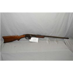 "Savage Model 25 ? .22 LR Cal Mag Fed Pump Action Rifle w/ 24"" octagon bbl [ fading blue finish turni"