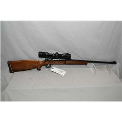 "Unknown Custom Model Mauser Action .30 Rem Cal Bolt Action Rifle w/ 20"" bbl [ blued finish, front ba"