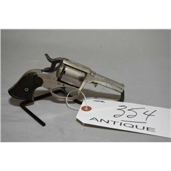 "Remington - Rider Model Pocket Factory Conversion .32 Rimfire Cal 5 Shot Revolver w/ 2 1/2"" octagon"