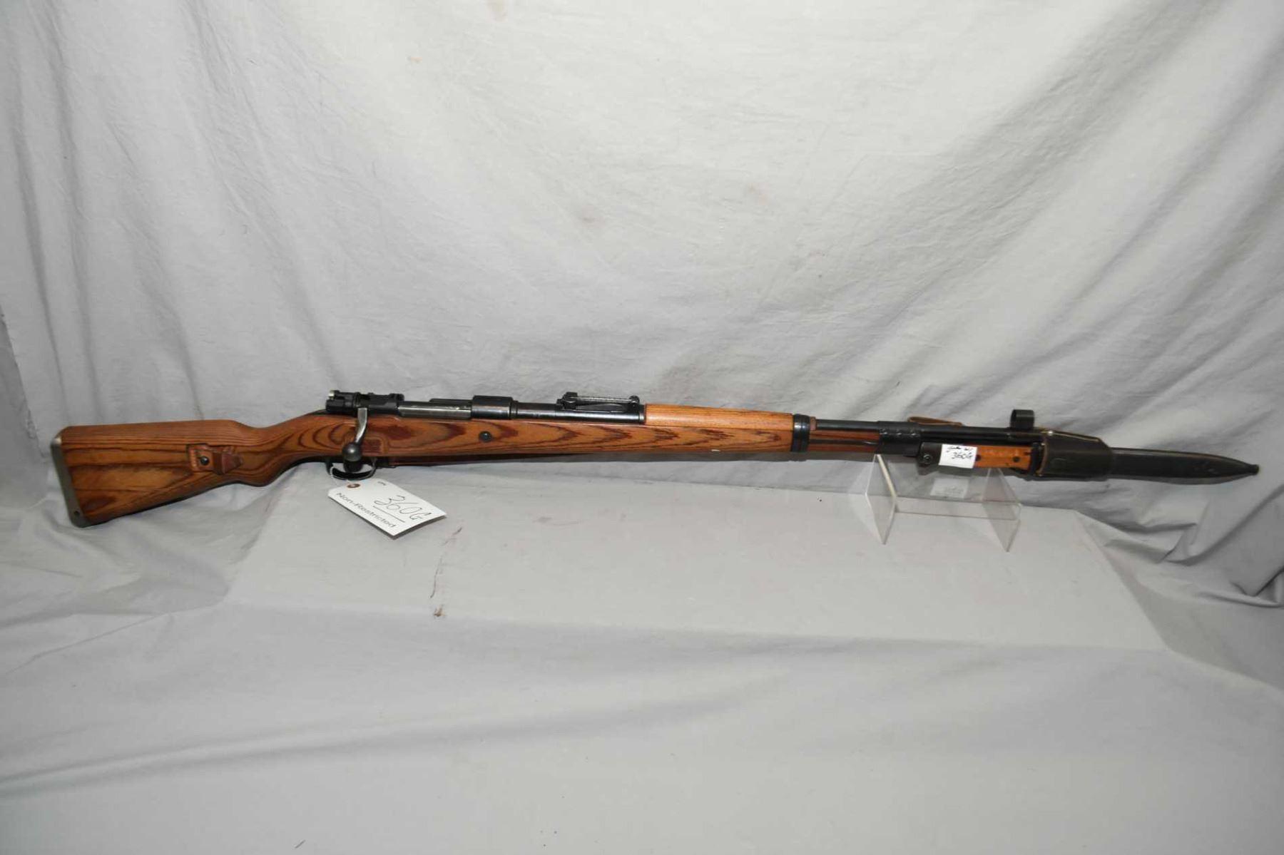 German Mauser ( bcd dated 43 ) Model 98  8 MM Mauser Cal