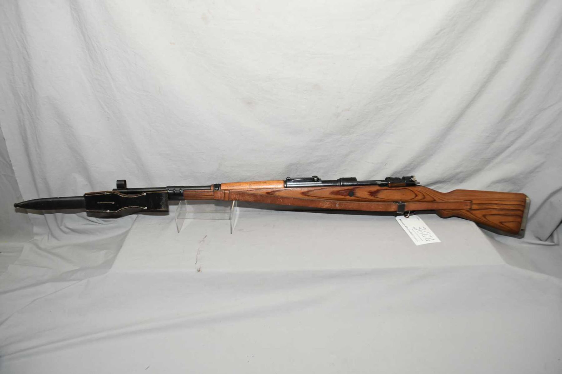 German Mauser ( bcd dated 43 ) Model 98  8 MM Mauser Cal Full Wood