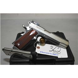 Sig Sauer Model 1911 .45 Auto Cal 8 Shot Semi Auto Pistol w/ 127 mm bbl [ Appears V - Good Plus, two