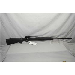 """Weatherby Model Mark V .340 Wby Mag Cal Bolt Action Rifle w/ 26"""" bbl [ blued finish, no sights, but"""
