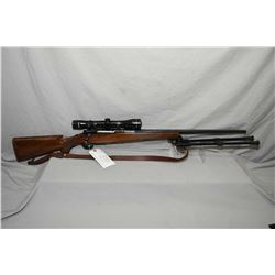 """Ruger Model M77 .300 Win Mag Cal Bolt Action Rifle w/ 24"""" bbl [ blued finish, no sights, but fitted"""