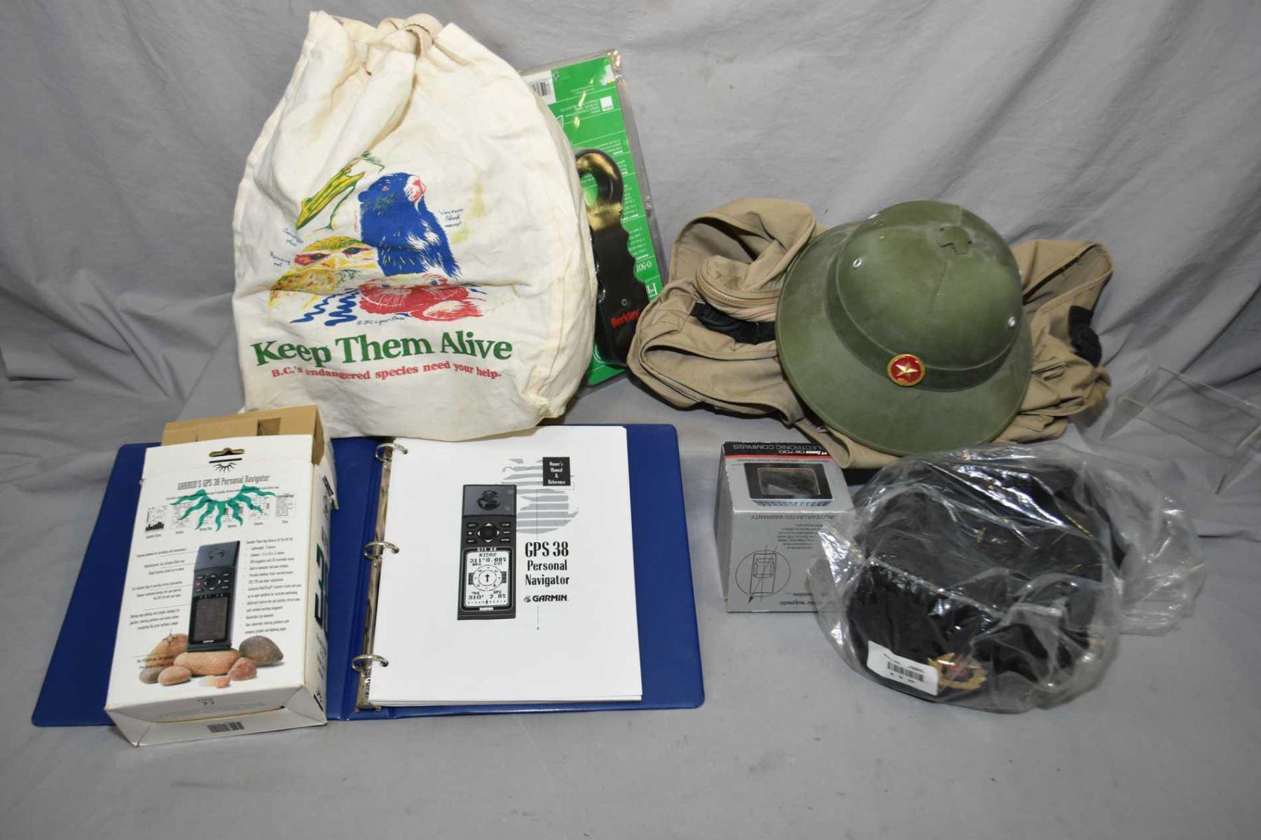 4b210b1756b Russian Winter Hat w hat badge w  bag - Green Pith Style Helmet w