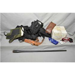 Box Lot : As New Green Shooting Coat - Cash Creek Shooting Vest - .7 MM Mag Remington Barrel ONLY -