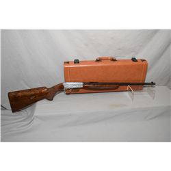 Browning .22 long rifle semi-automatic grade III W/ hand carved engravings W/ .22LR  19 1/4  BBL [ E