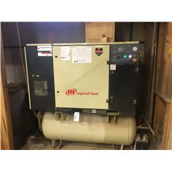 INGERSOLL RAND SSR-UP6-20-150 150 PSI 60 HZ 3 PHASE HORIZONTAL AIR COMPRESSOR - 26820 HOURS