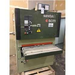SCM SANDYA 3 3-RCS-95 220 VOLT 3 PHASE WIDE BELT SANDER