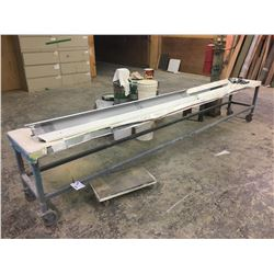 STEEL STOCK CART - APPROX. 11 X 1 FT