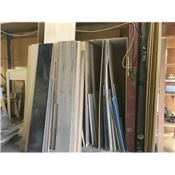 LOT OF WOOD STOCK