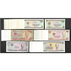 State Bank of Viet Nam. 1987-91 Issues.