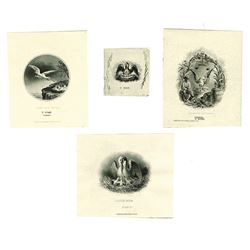 Louisiana Proof Vignettes from ABNC and NBNC Archives, ca.1840-1880's.