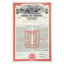 State of Israel, 1950-1960 Specimen Registered Bond