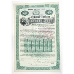 Central-Hudson Steamboat Co., 1899 Issued Bond.