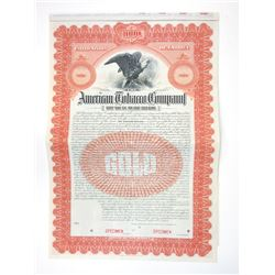 American Tobacco Co., 1904 Specimen Bond