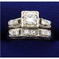 3/4ct Total Weight Diamond Ring