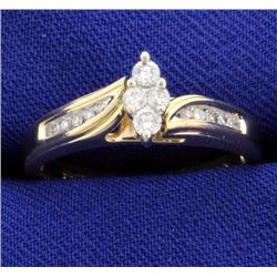 1/4ct Total Weight Diamond Ring