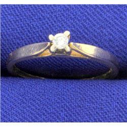 .05ct Diamond Solitaire Ring