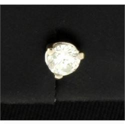 Single .15ct Diamond Stud Earring