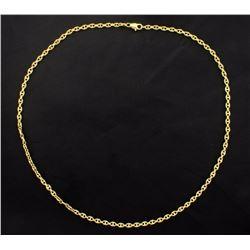 18K Yellow Gold Chain