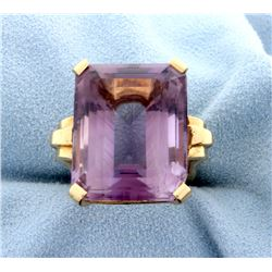 30ct Amethyst Ring
