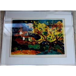 Provence by Guy Charon Lithograph