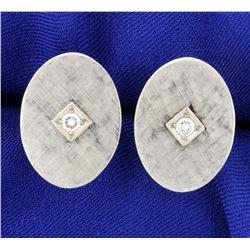 Diamond Cufflinks