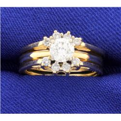 3/4ct TW Diamond Ring with Ring Jacket