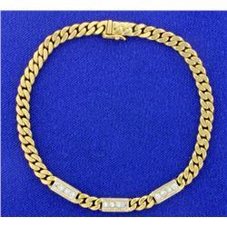 18K 1/2ct TW Diamond Bracelet